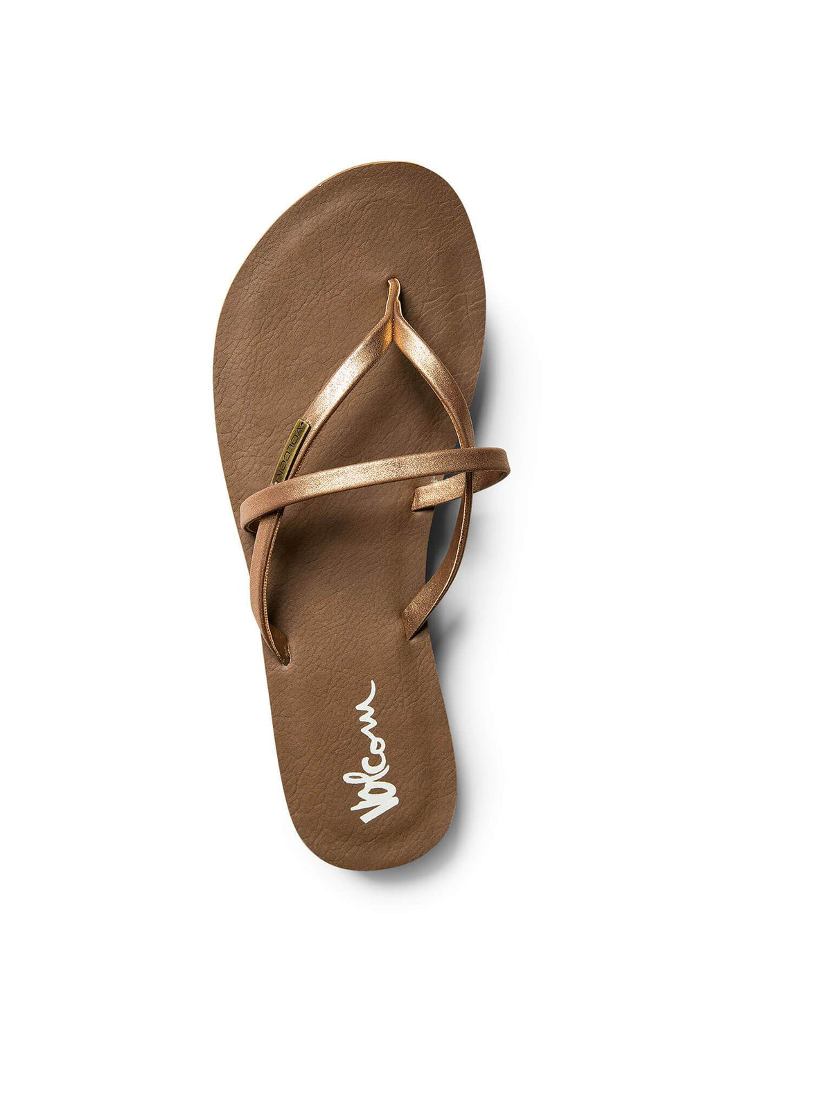 All Night Long Sandals In Bronze, Alternate View