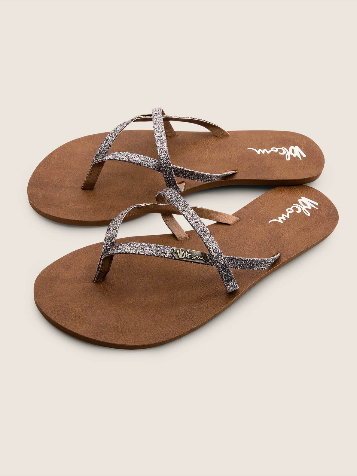 All Night Long Sandals In Multi, Front View