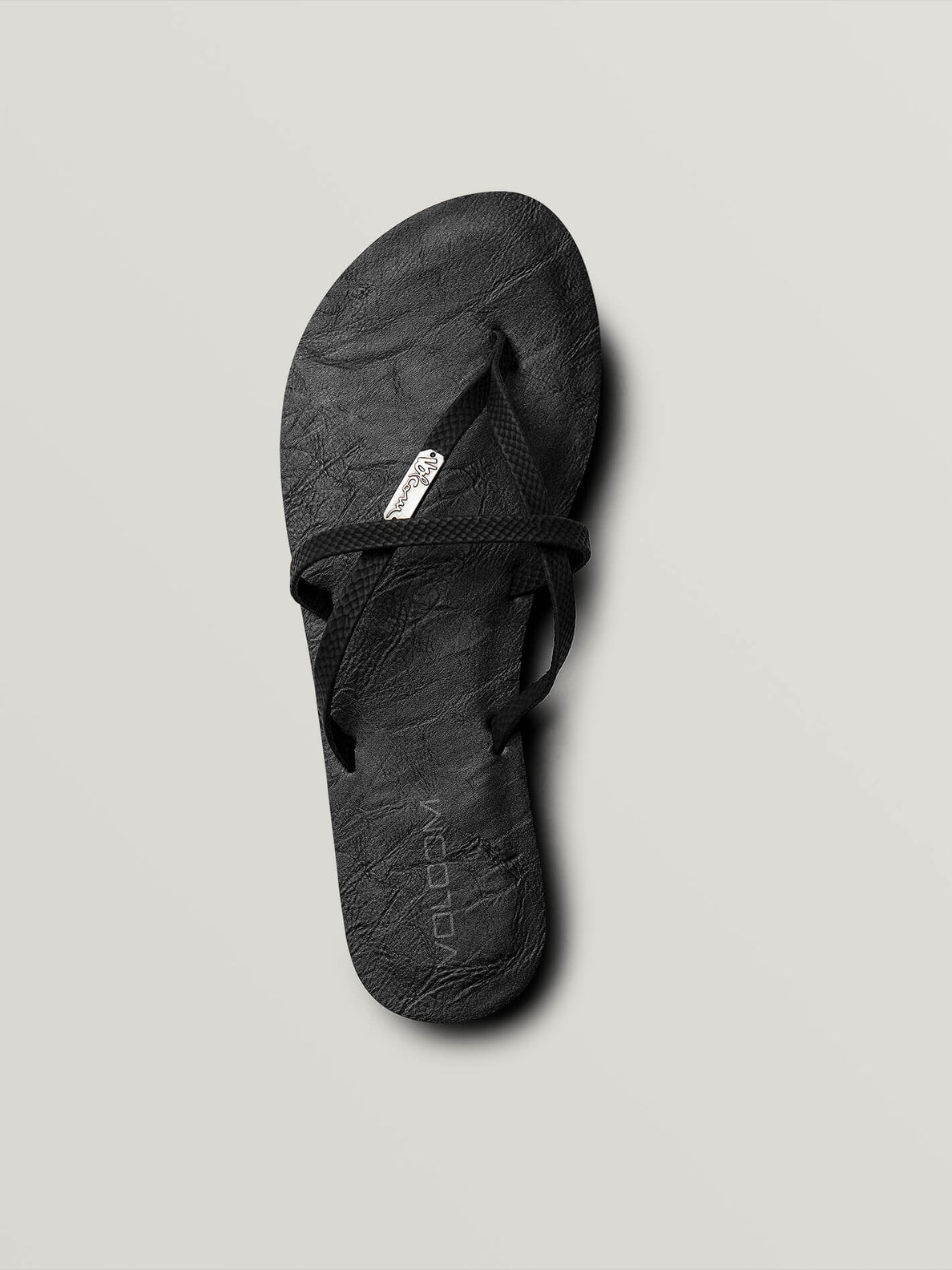 All Night Long Sandals In Sulfur Black, Alternate View
