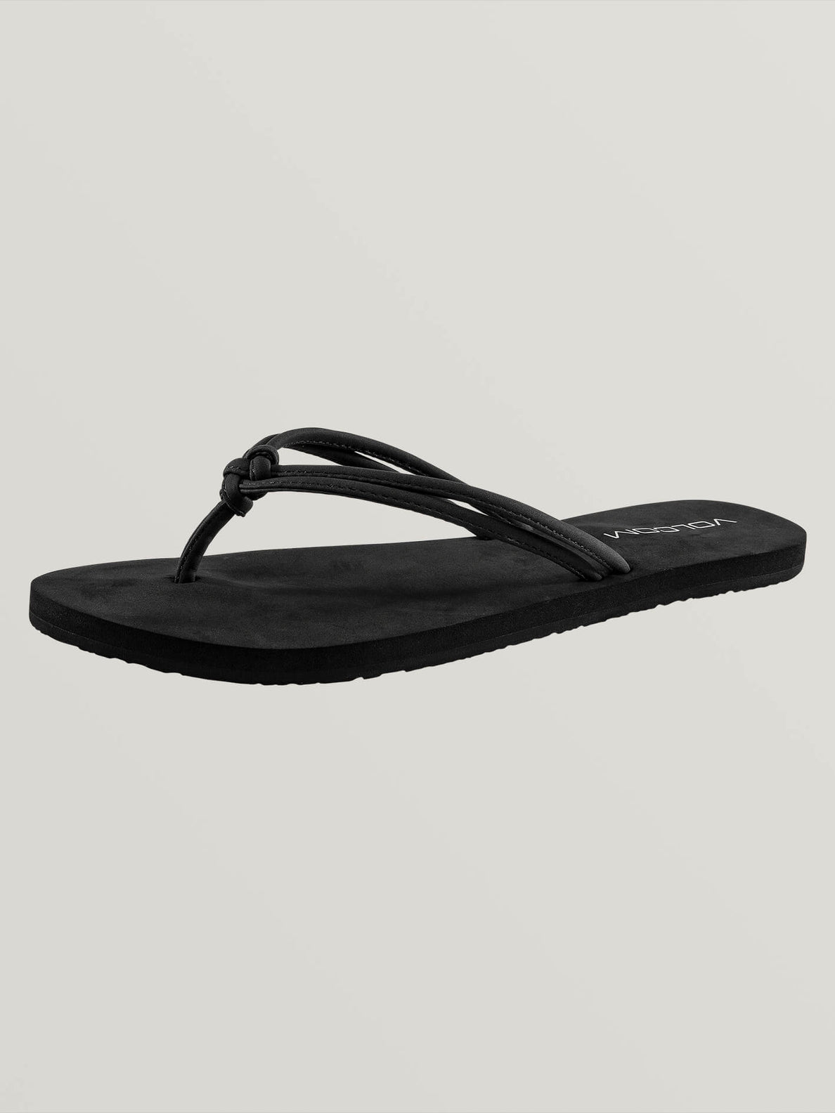Forever And Ever Sandals In Black, Back View
