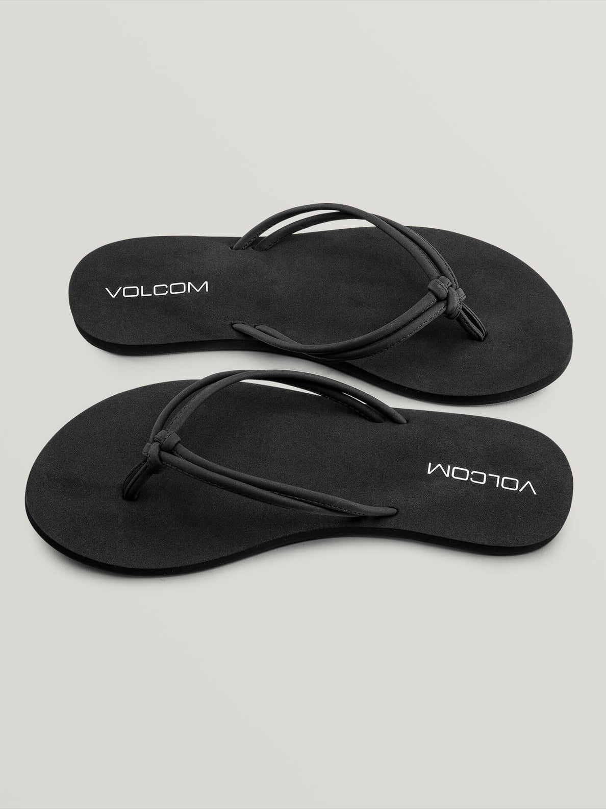 Forever And Ever Sandals In Black, Front View