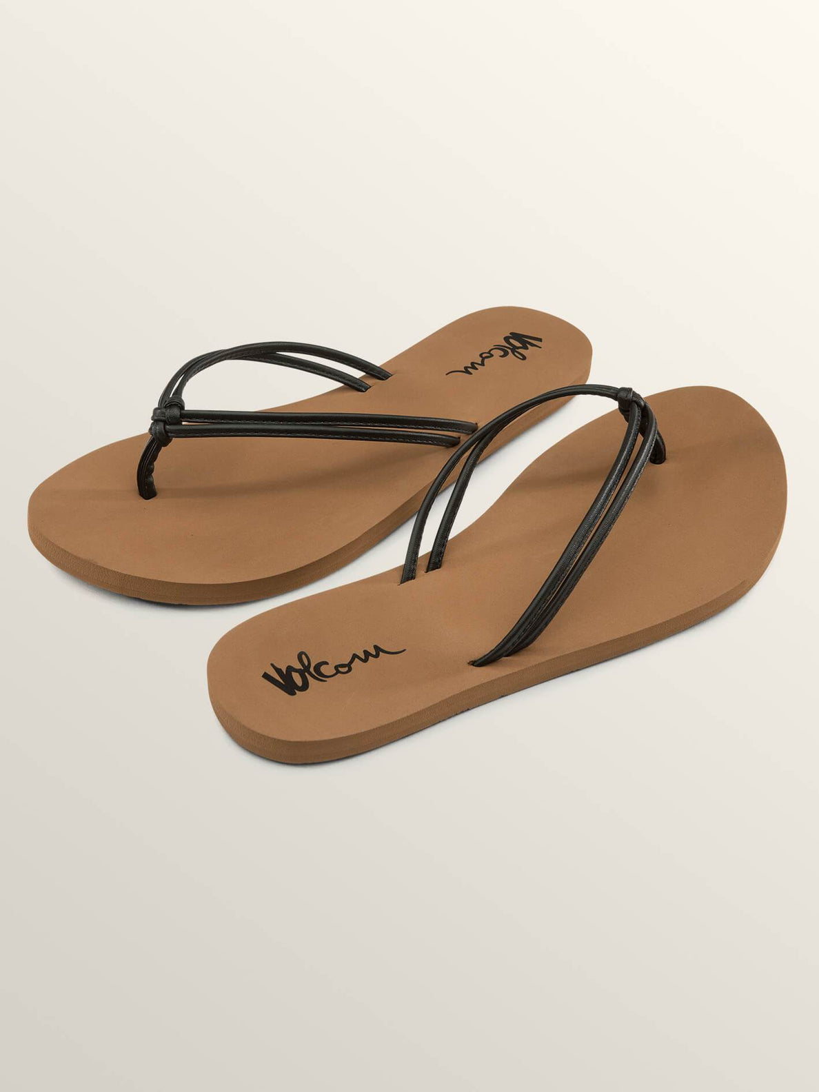 Forever And Ever Sandals In Vintage Black, Front View