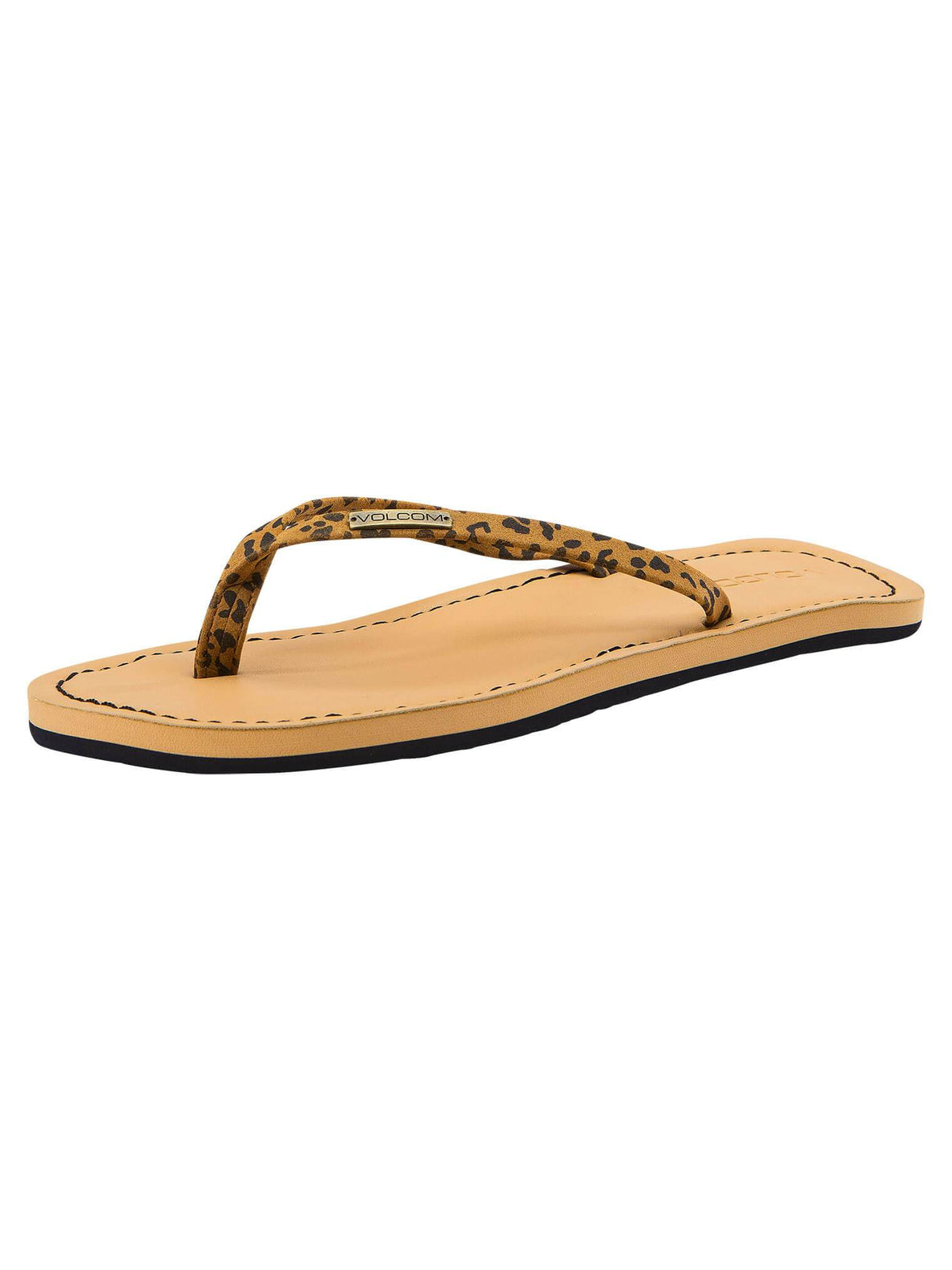Lagos Sandals In Cheetah, Back View