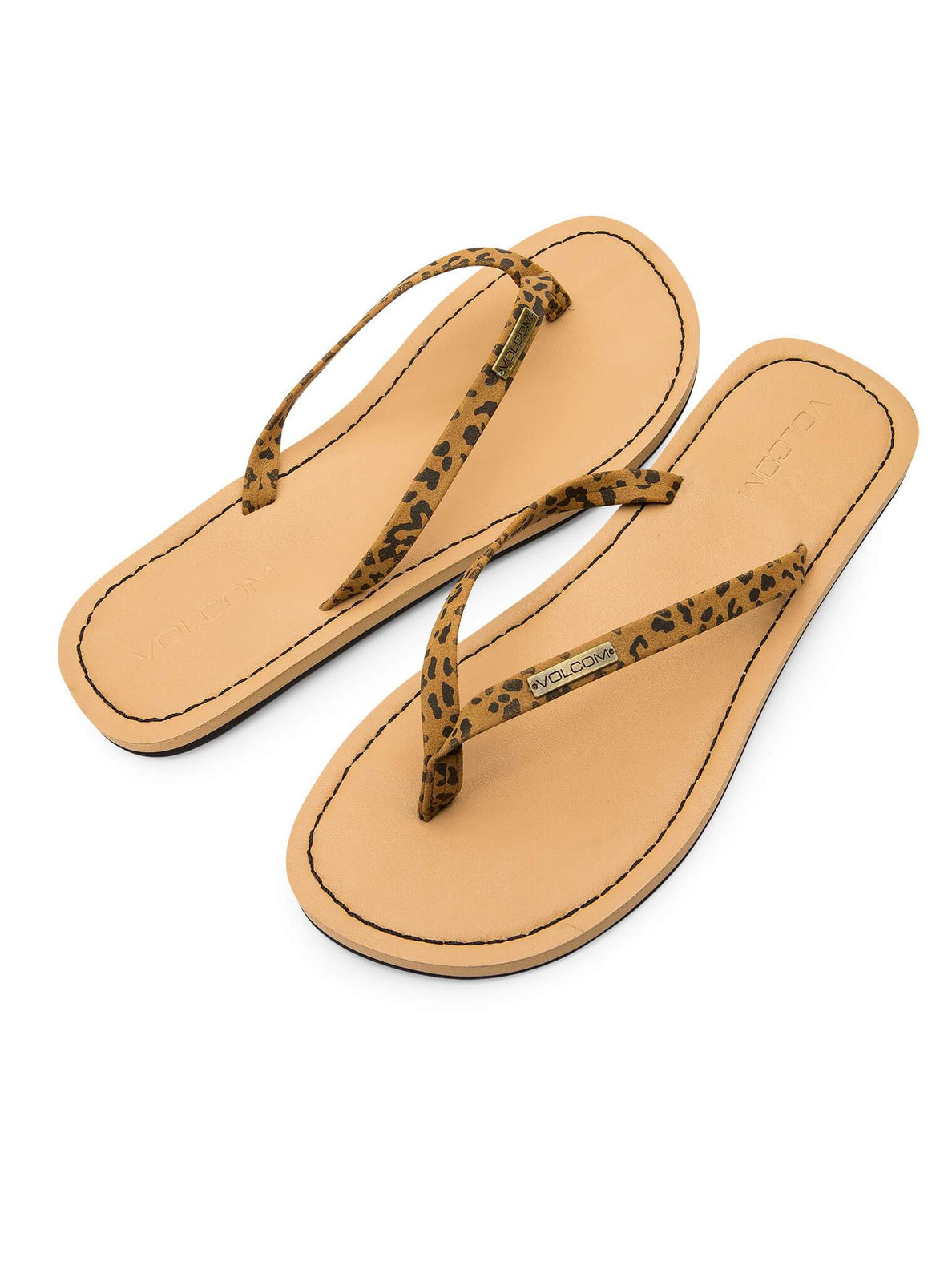 Lagos Sandals In Cheetah, Front View