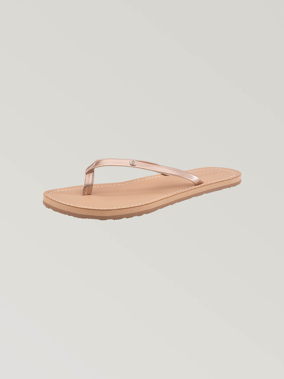 Lagos Sandals In Rose Gold, Back View