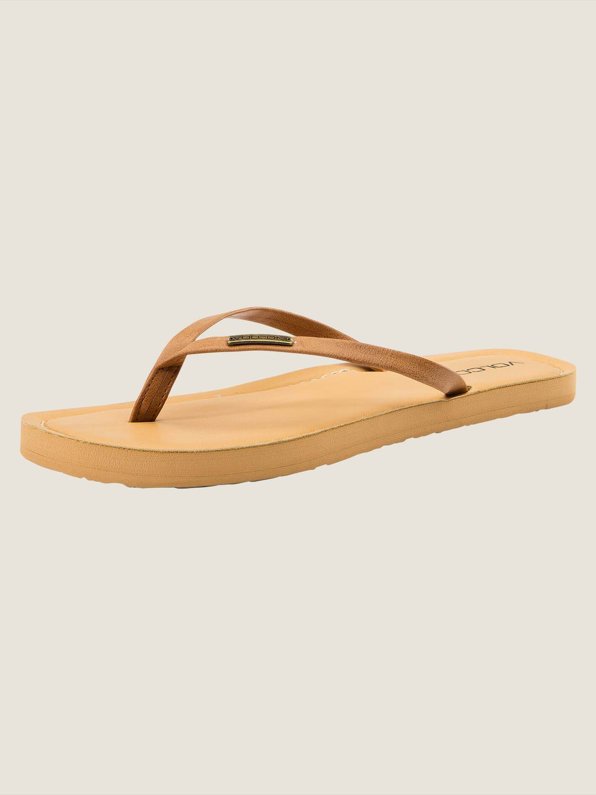 Lagos Sandals In Tan, Back View