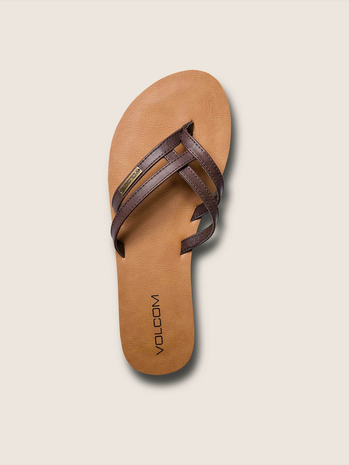 Crosstown Sandals In Brown, Alternate View