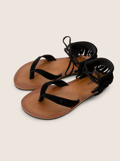All Access Sandals In Black, Front View