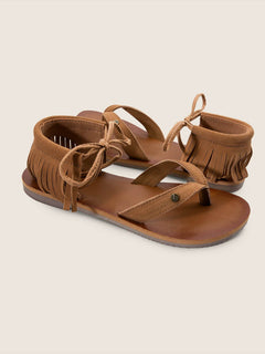 All Access Sandals In Cognac, Front View