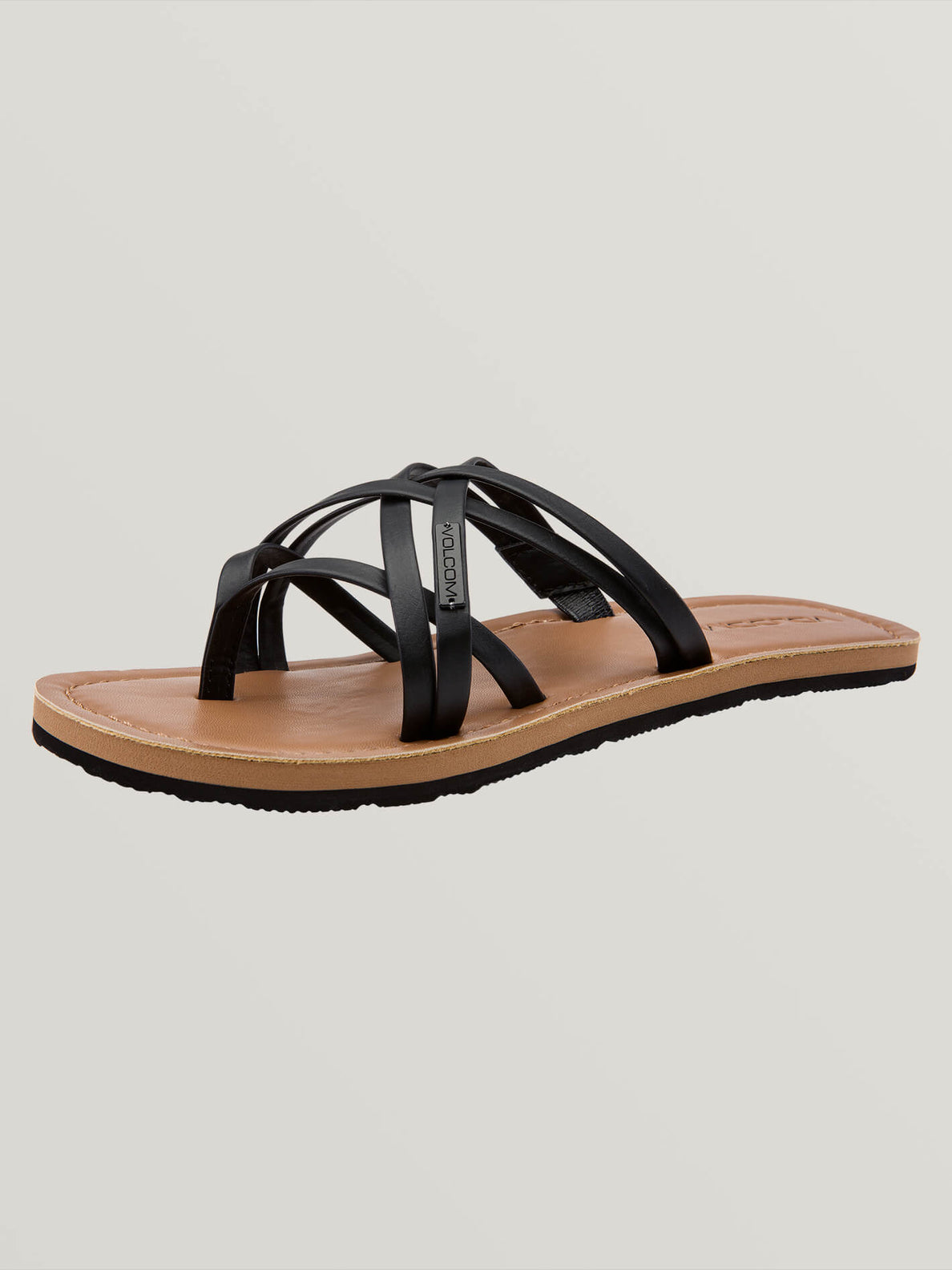 Strap Happy Sandal - Black (W0811806_BLK) [B]