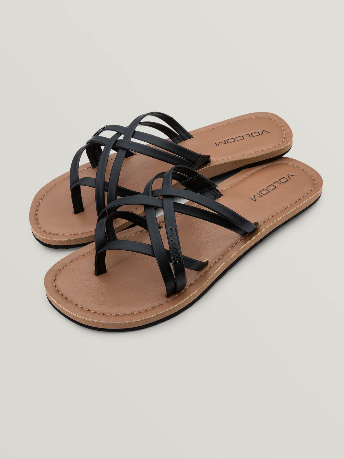 Strap Happy Sandal - Black (W0811806_BLK) [F]