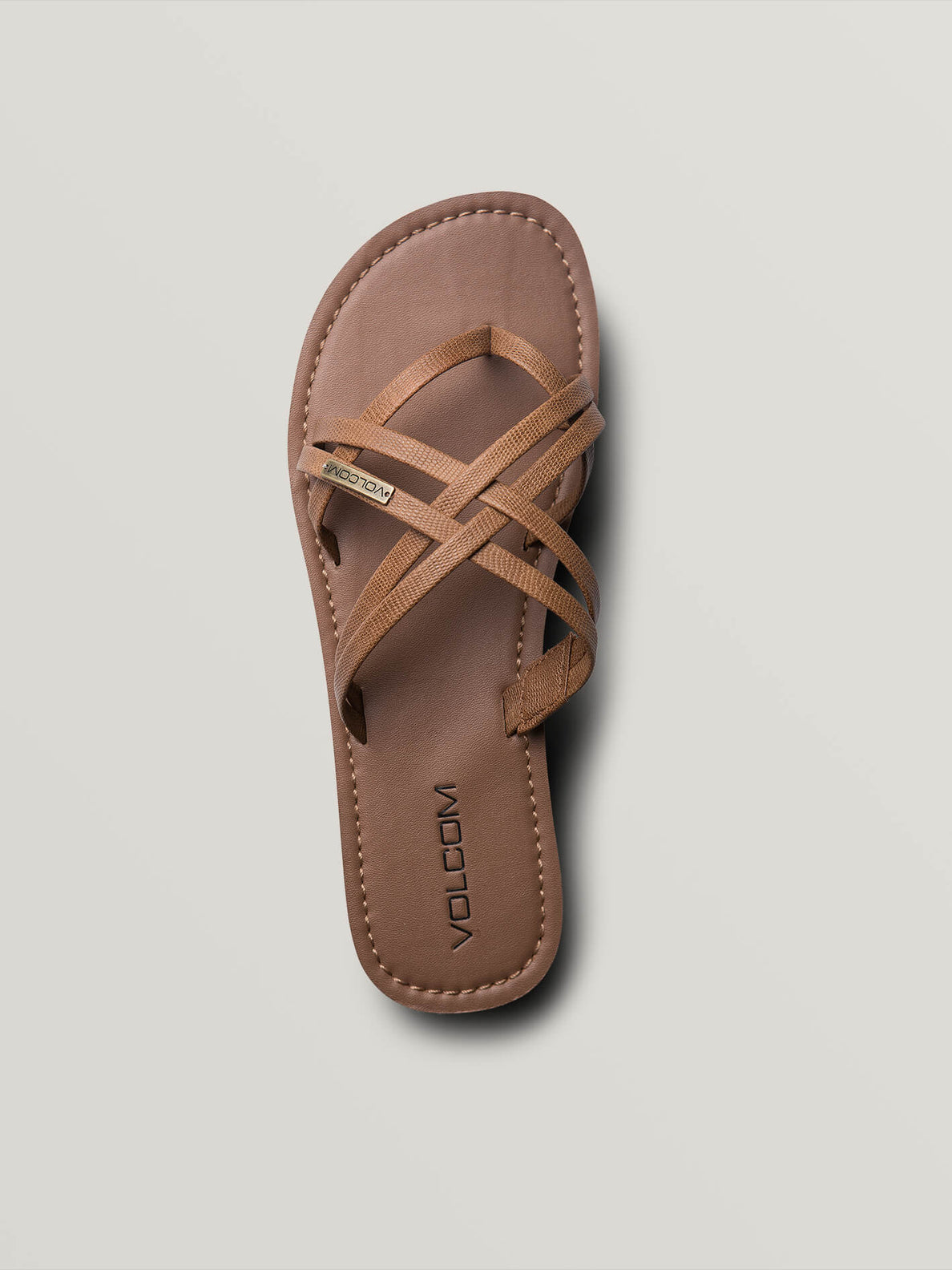 Strap Happy Sandals In Cognac, Alternate View