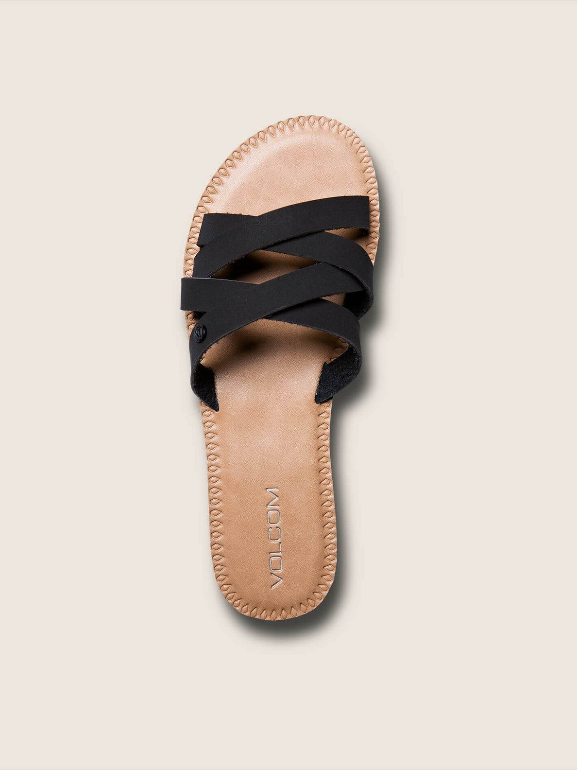 Garden Party Sandals In Black, Alternate View