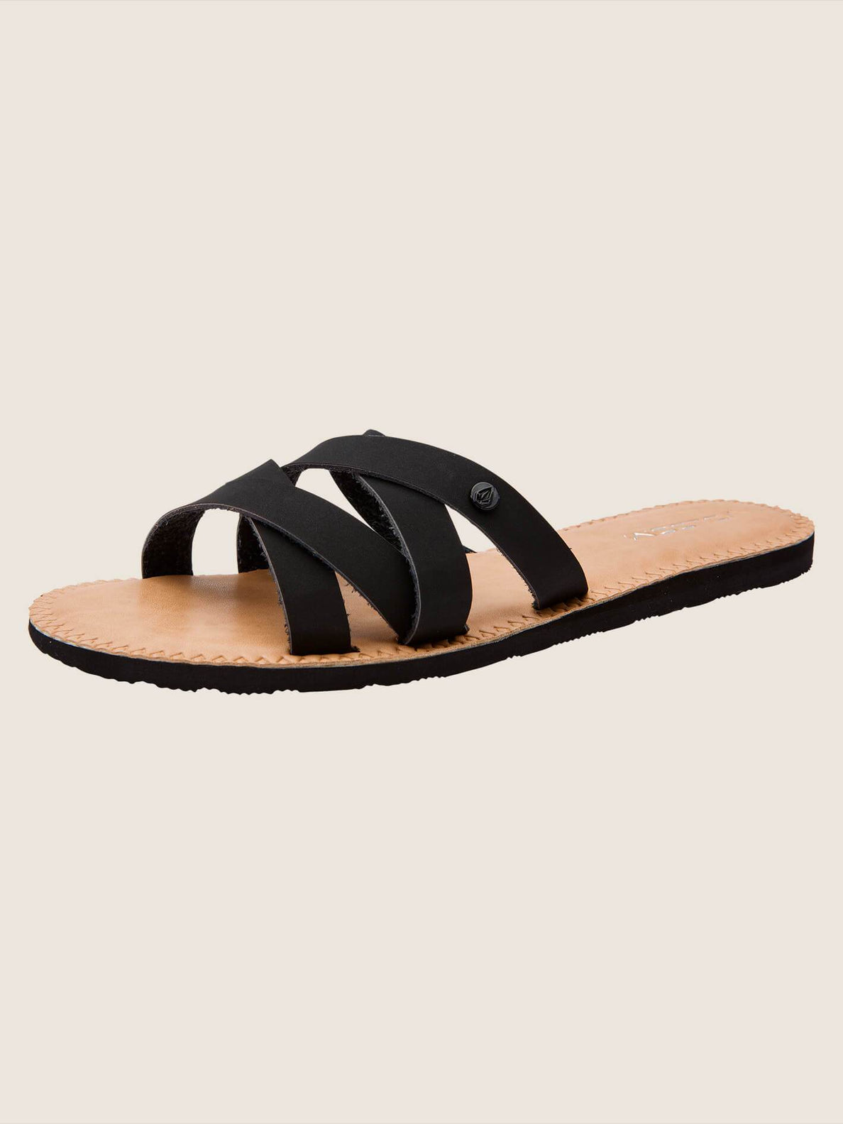 Garden Party Sandals In Black, Back View