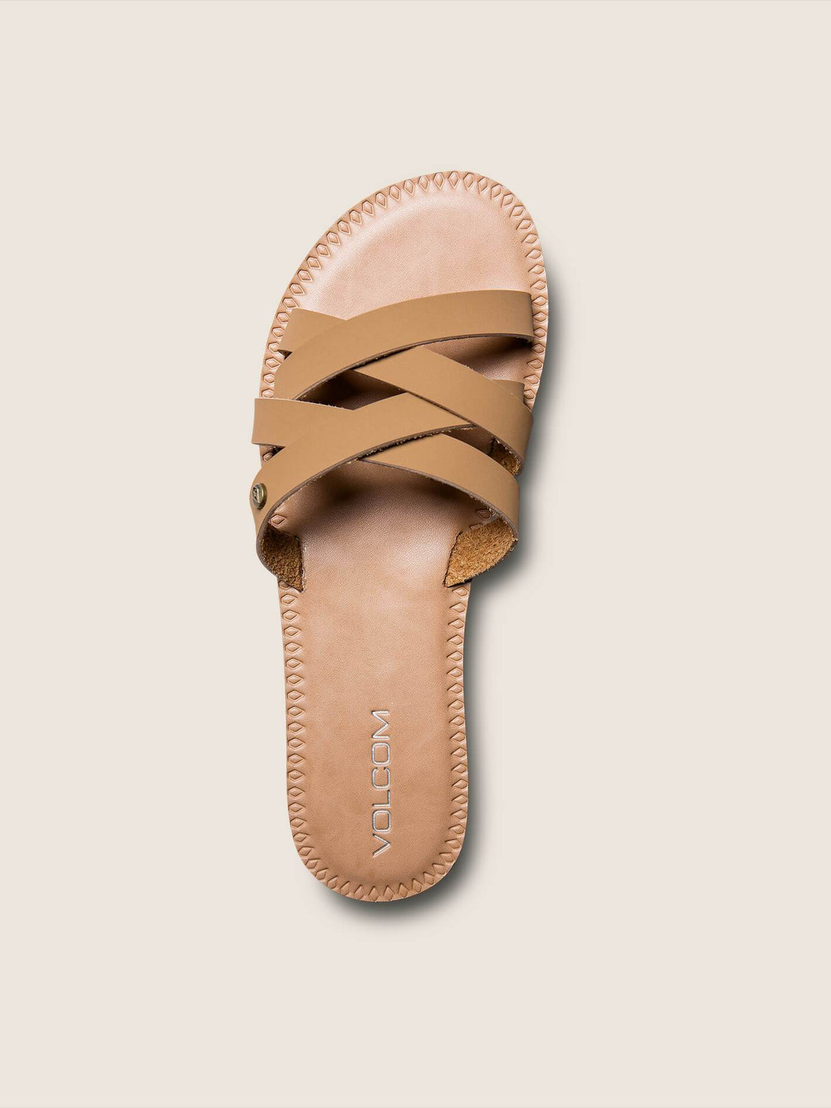 Garden Party Sandals In Tan, Alternate View