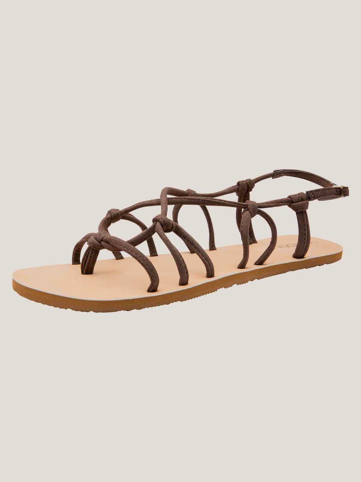 Whateversclever Sandals In Brown, Back View