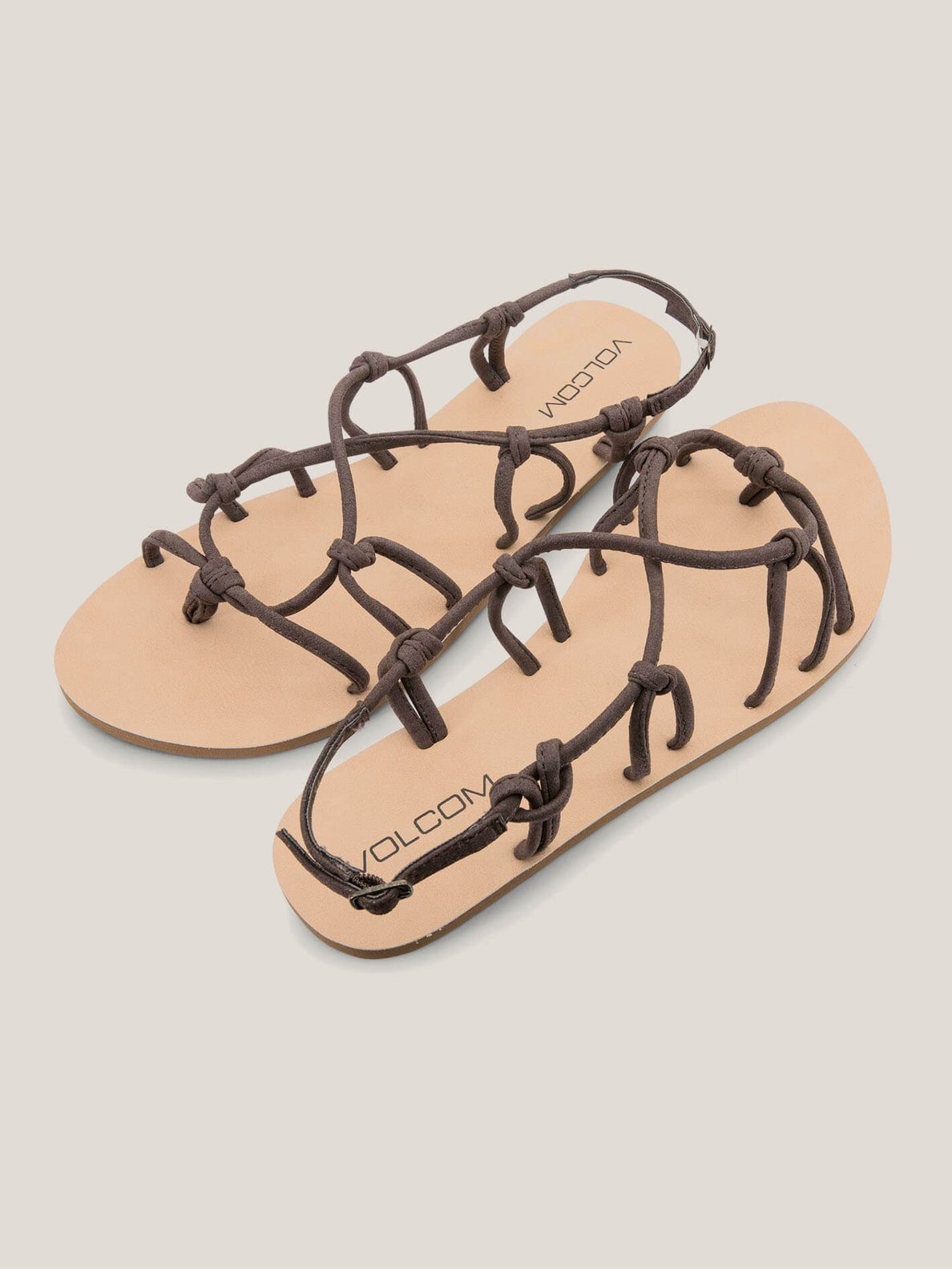 Whateversclever Sandals In Brown, Front View