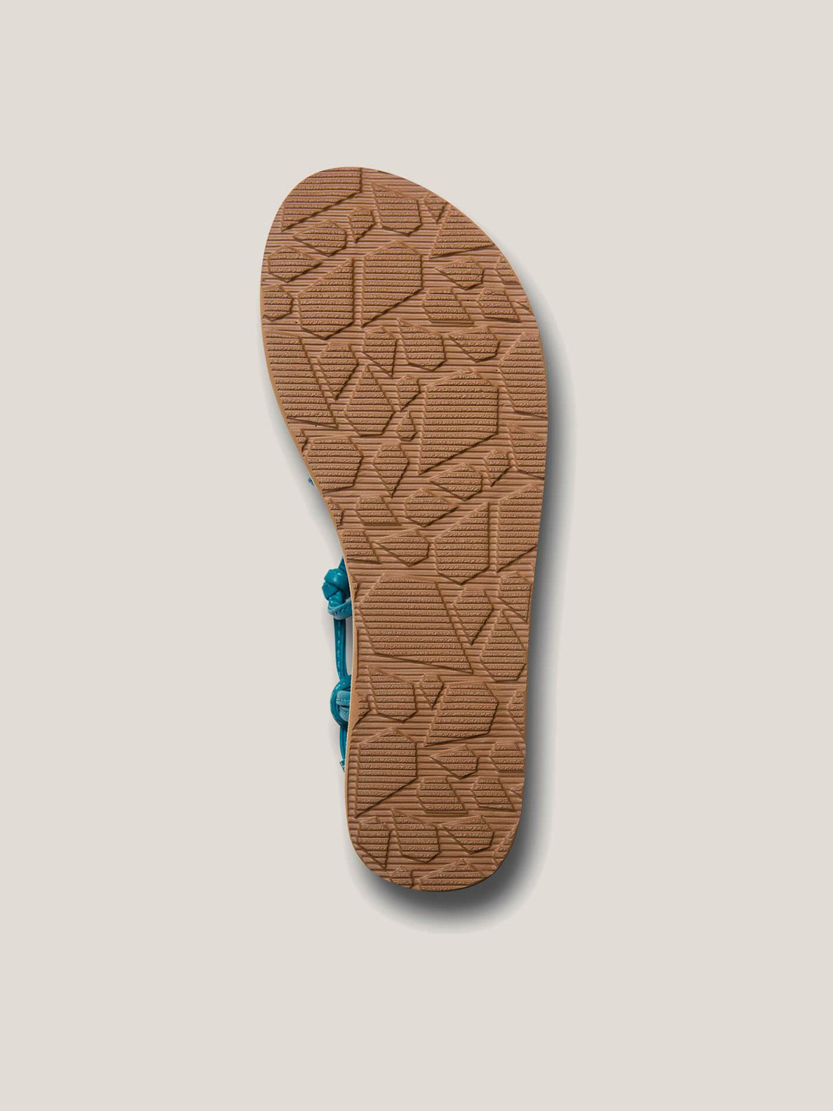 Whateversclever Sandals In Teal, Second Alternate View