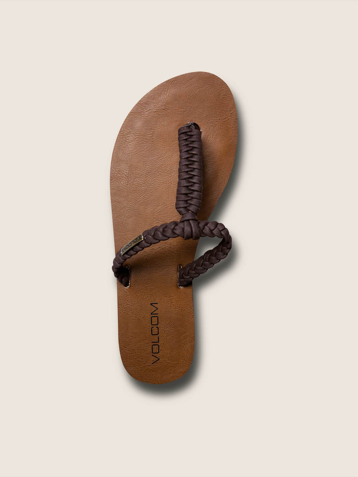 Fishtail Sandals In Brown, Alternate View