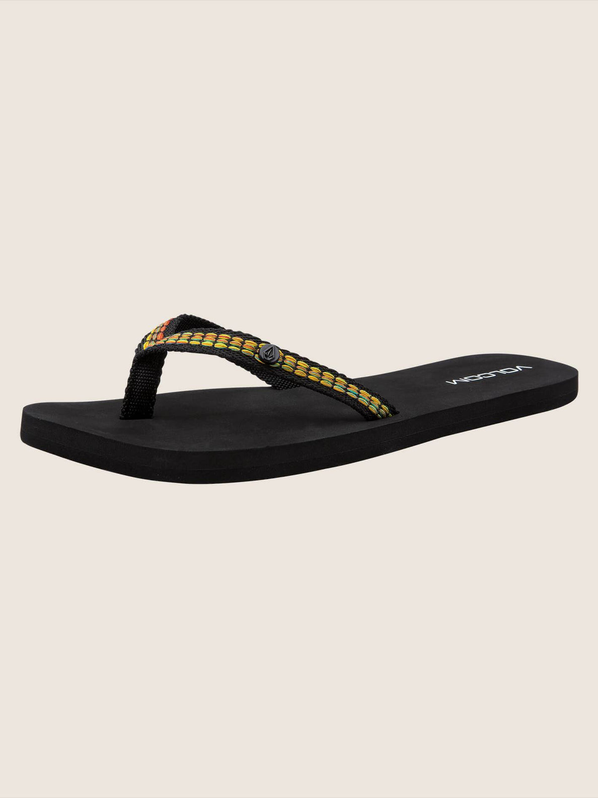 Trek Sandals In Black, Back View
