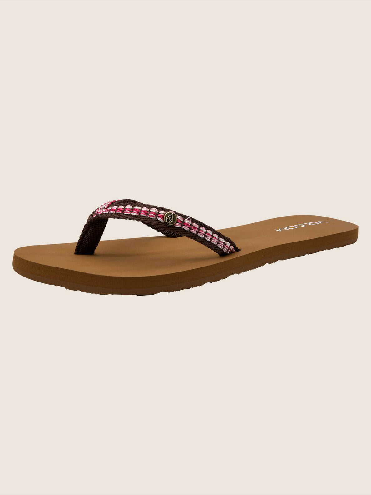 Trek Sandals In Brown, Back View
