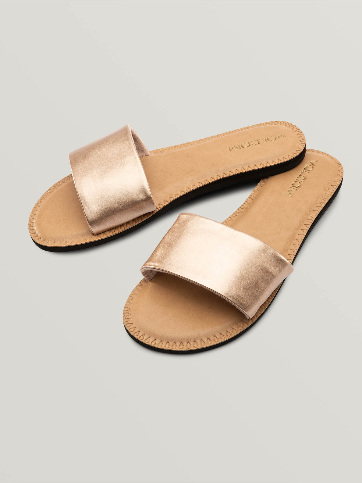 Simple Slide Sandal - Rose Gold (W0811816_RGD) [F]