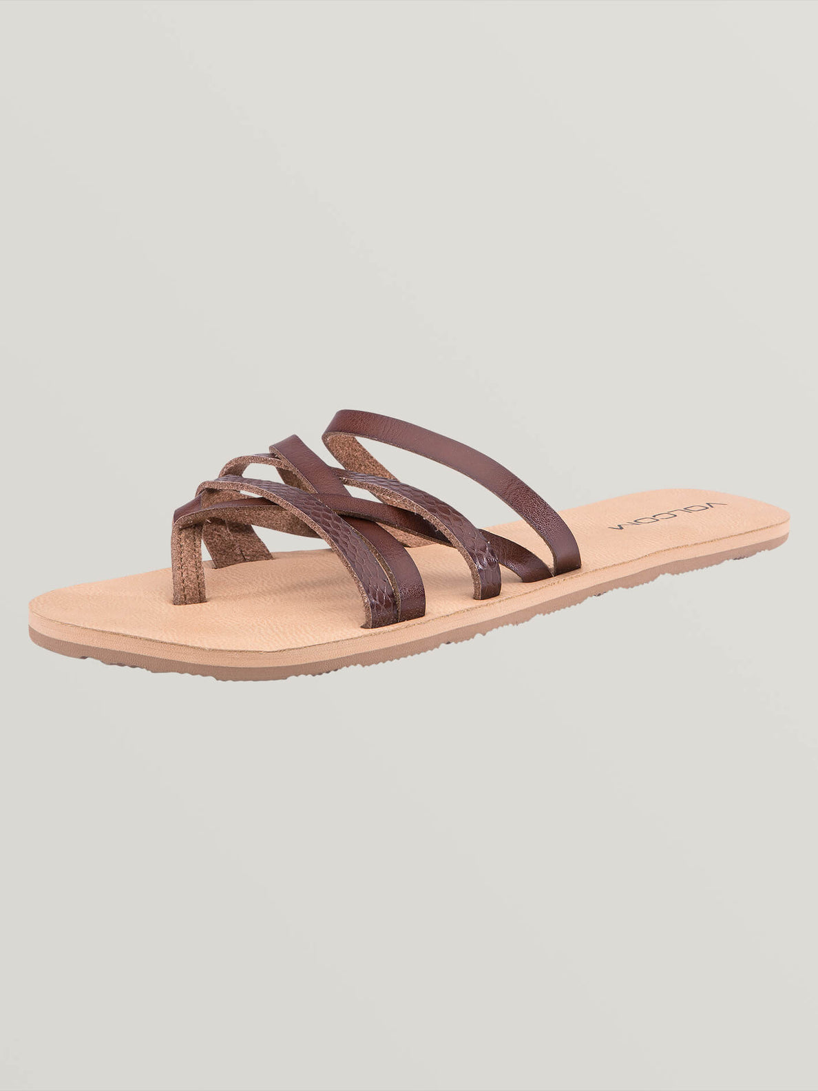 Legacy Sandals In Brown Combo, Back View