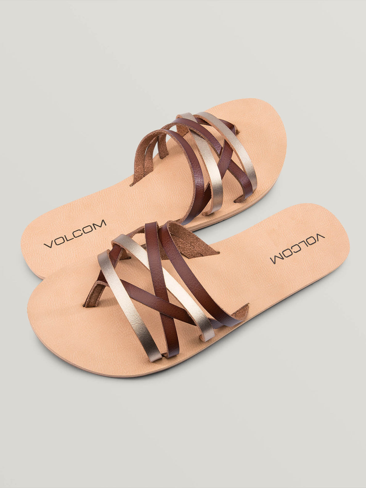 Legacy Sandals In Copper, Front View