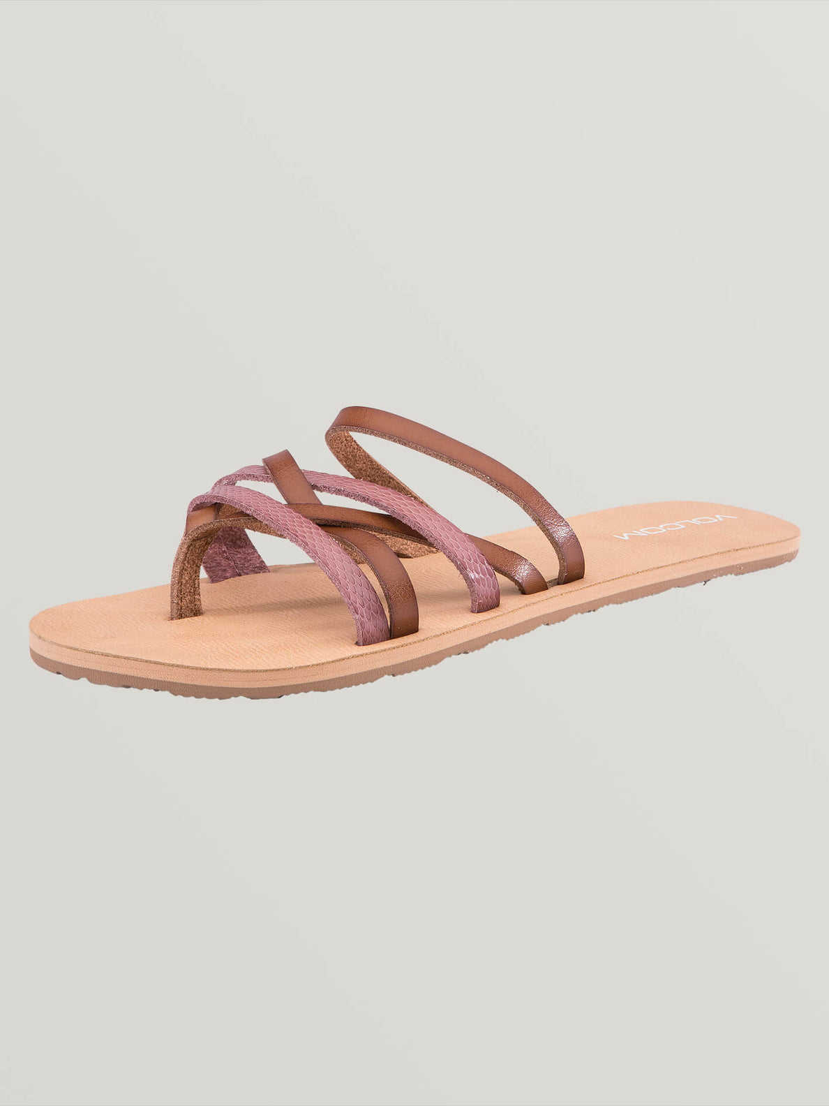 Legacy Sandals In Light Purple, Back View