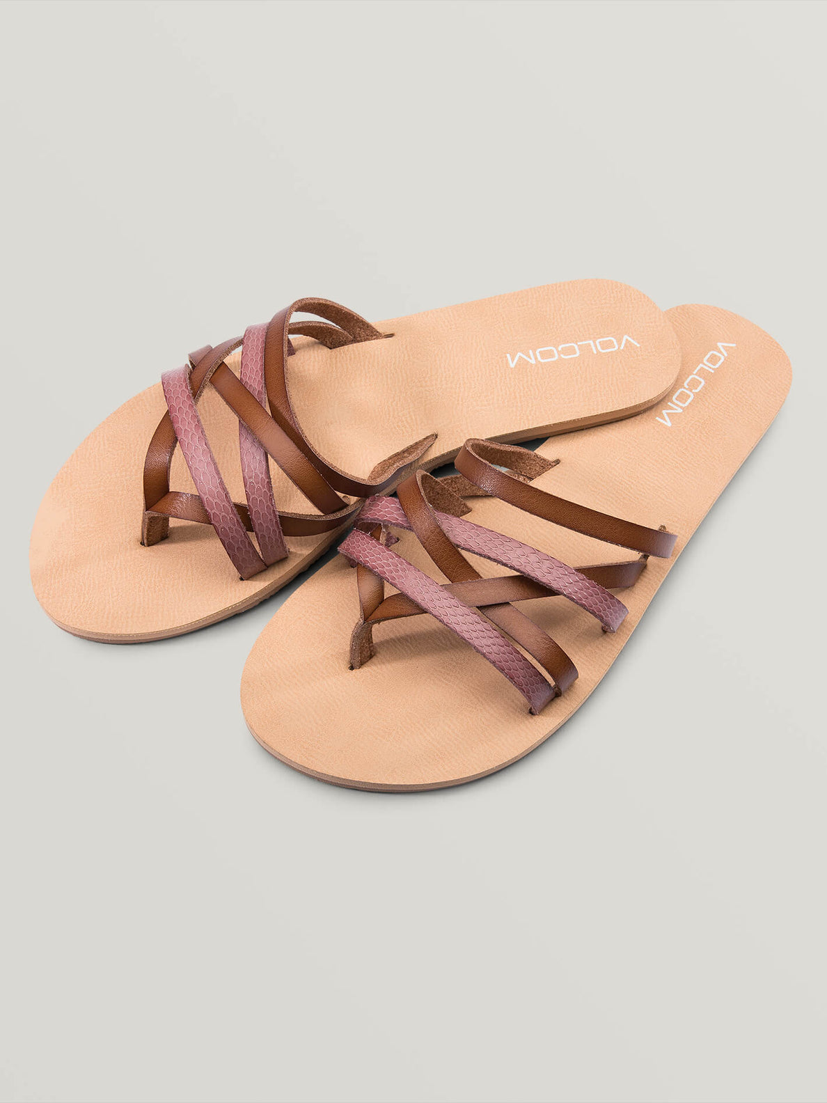 Legacy Sandals In Light Purple, Front View