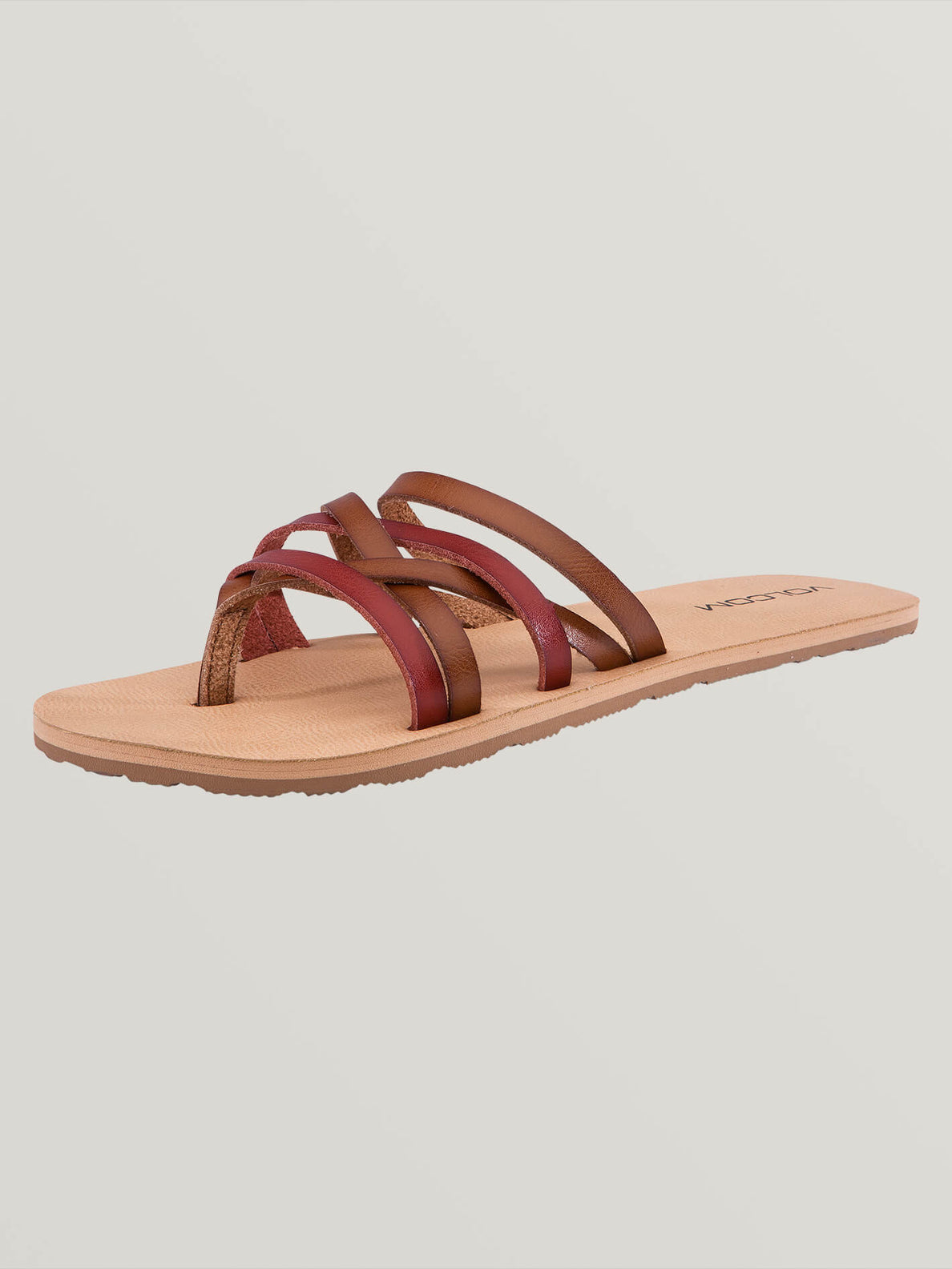 Legacy Sandals In Tan, Back View