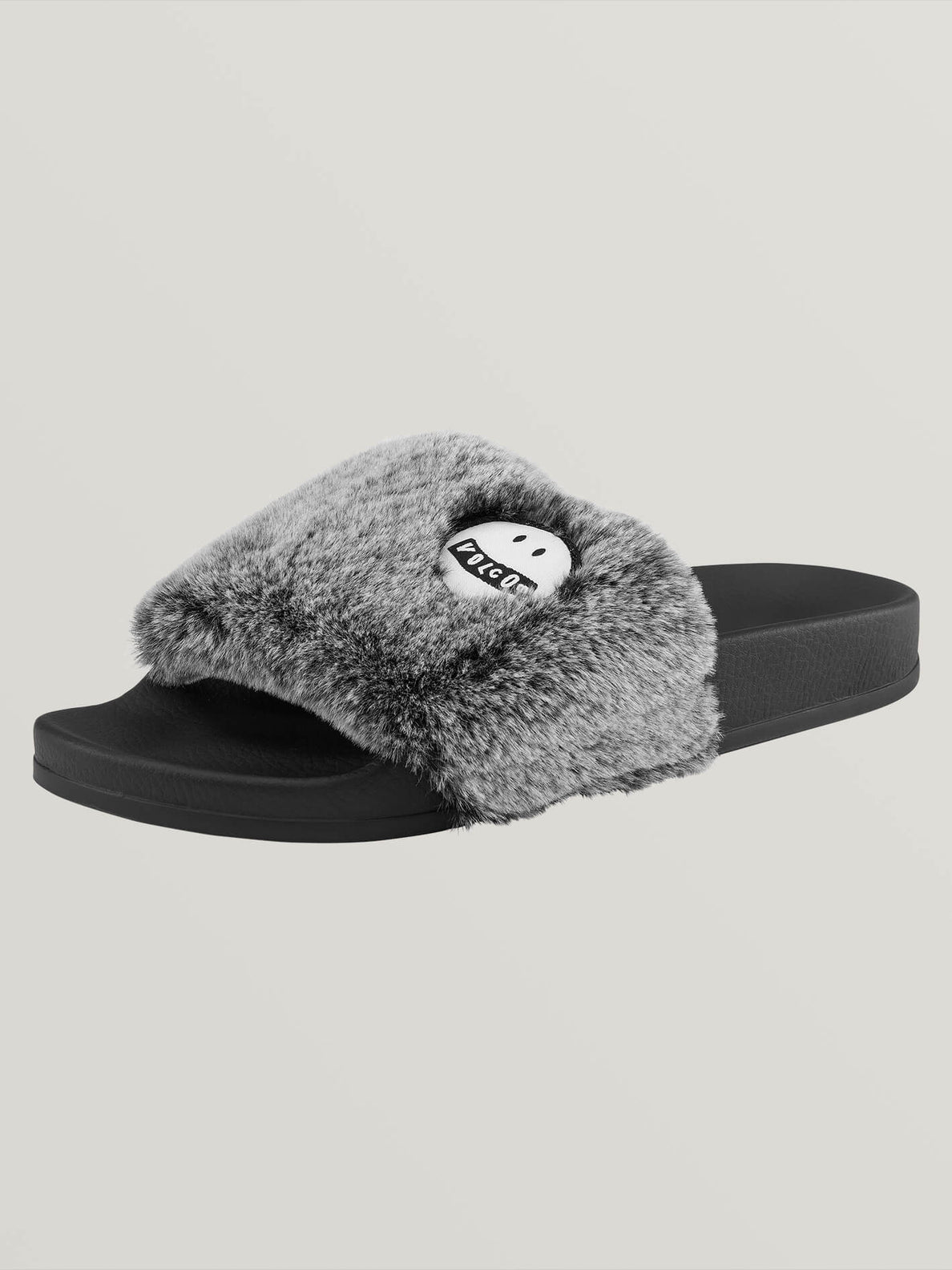 Lived In Lounge Slides In Heather Grey, Back View