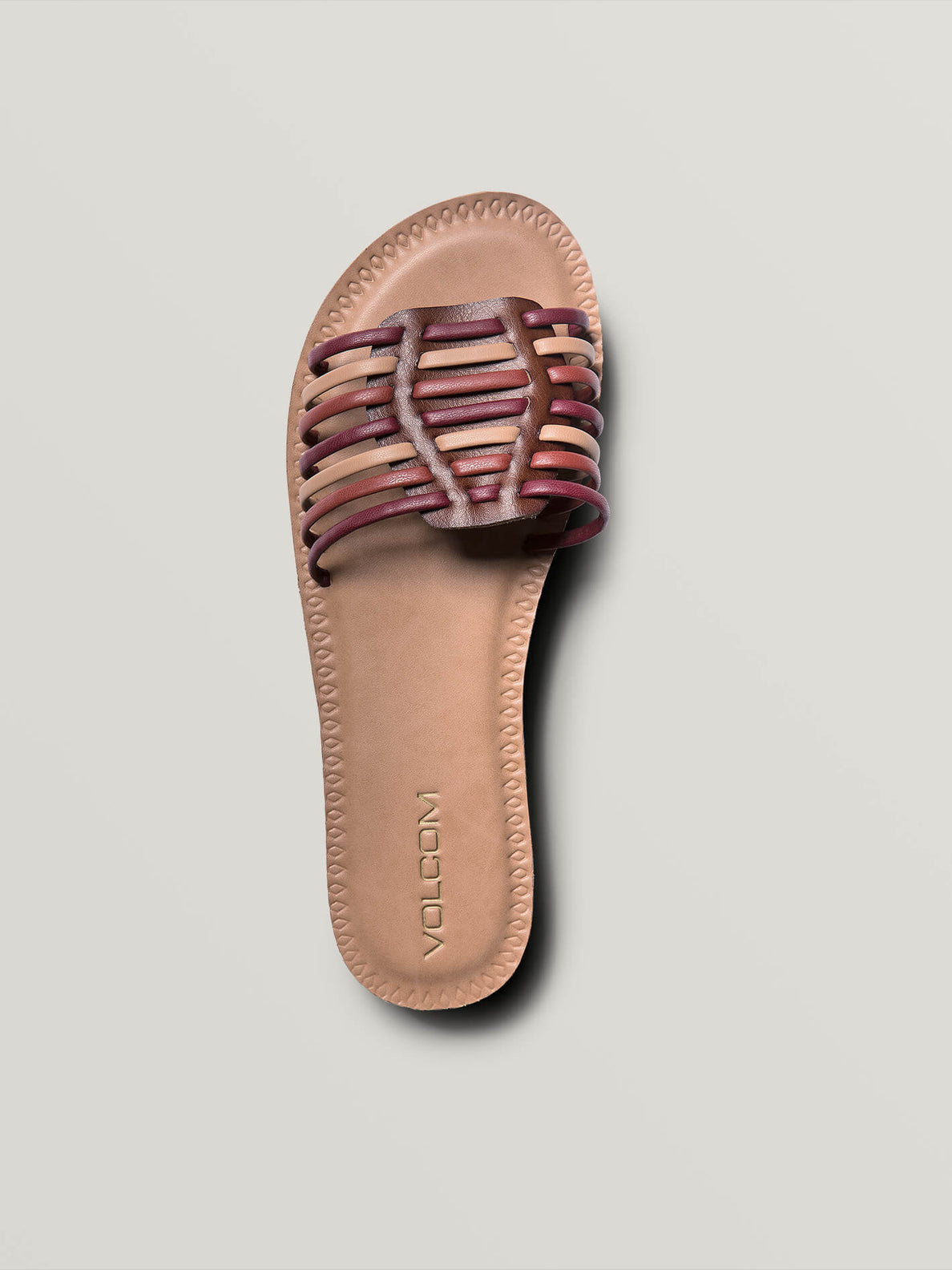 Porto Sandals In Bark Brown, Alternate View