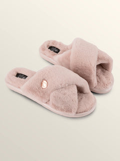 Lived In Lounge Slip Sandals In Cloud Pink, Front View