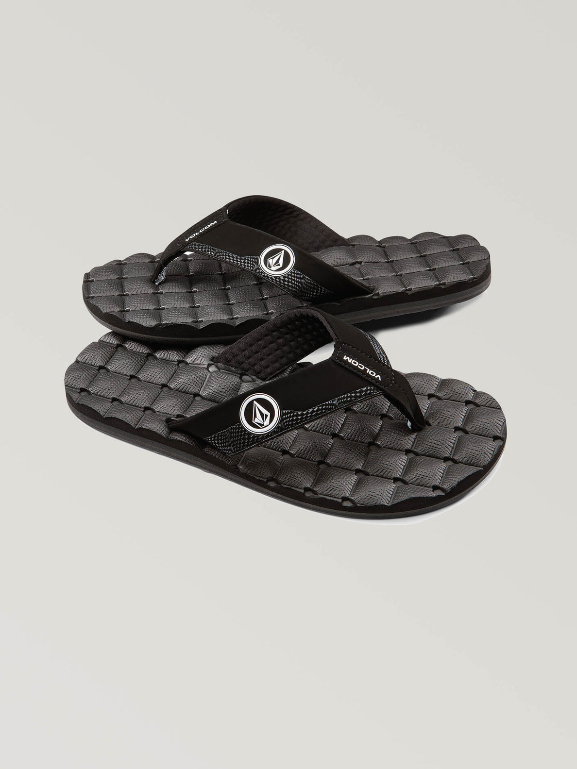 0fcd654466a7 Big Boys Recliner Sandals In Black White
