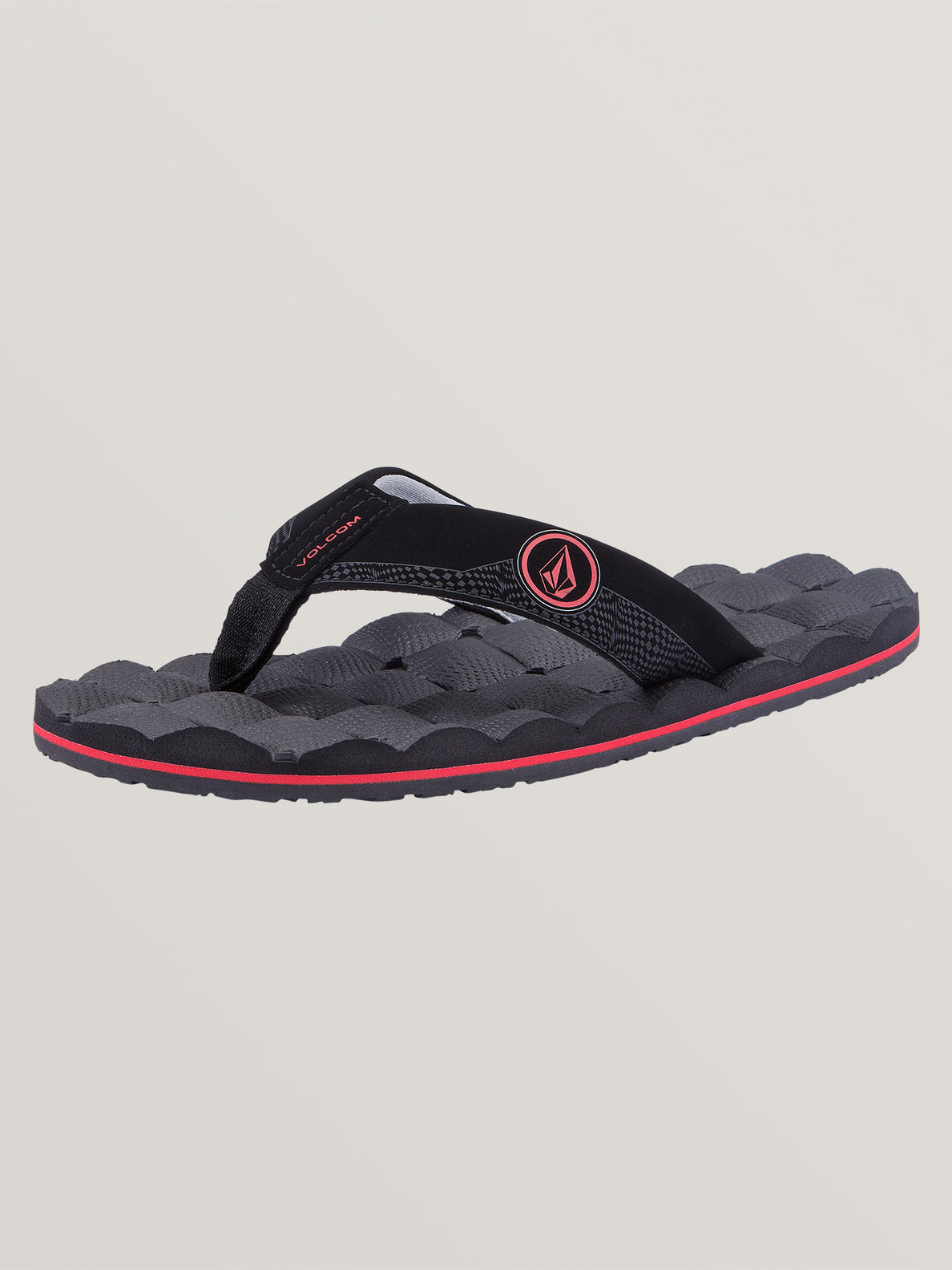 Big Boys Recliner Sandals In Graphite, Back View