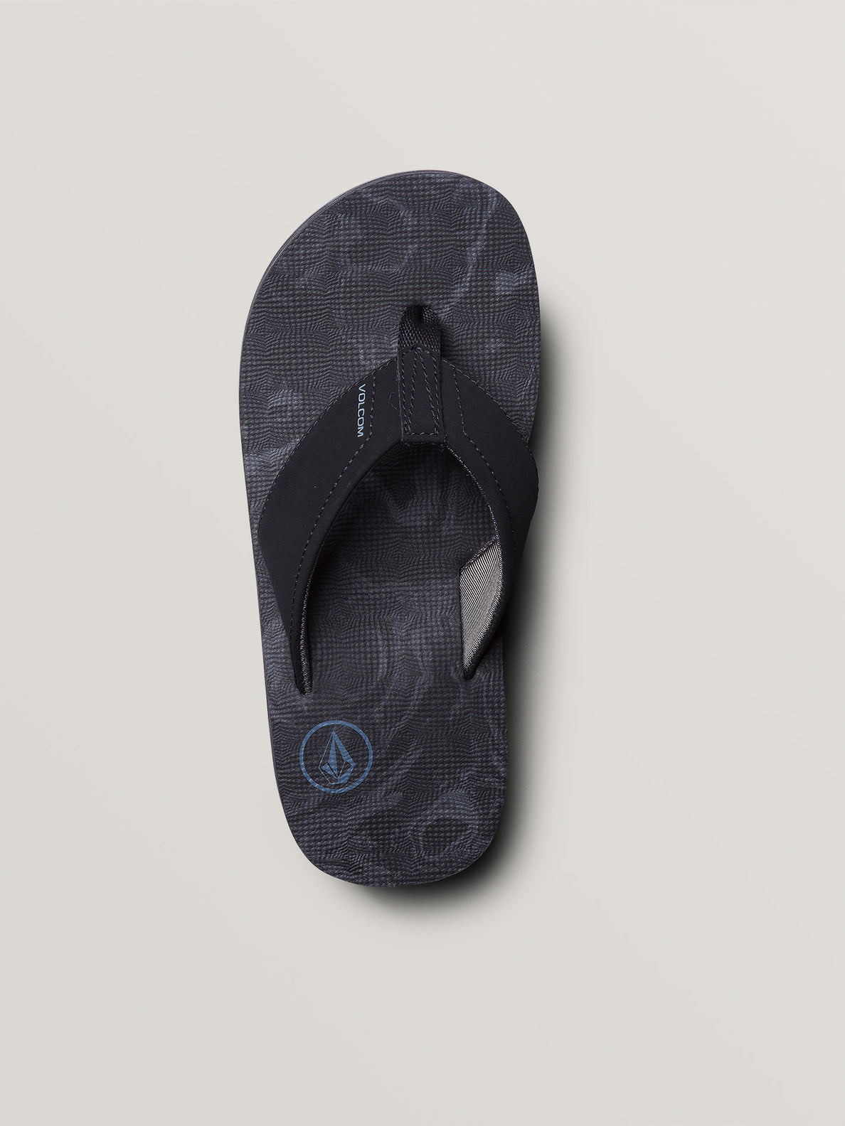 Big Boys Victor Sandals In Grey Blue, Alternate View