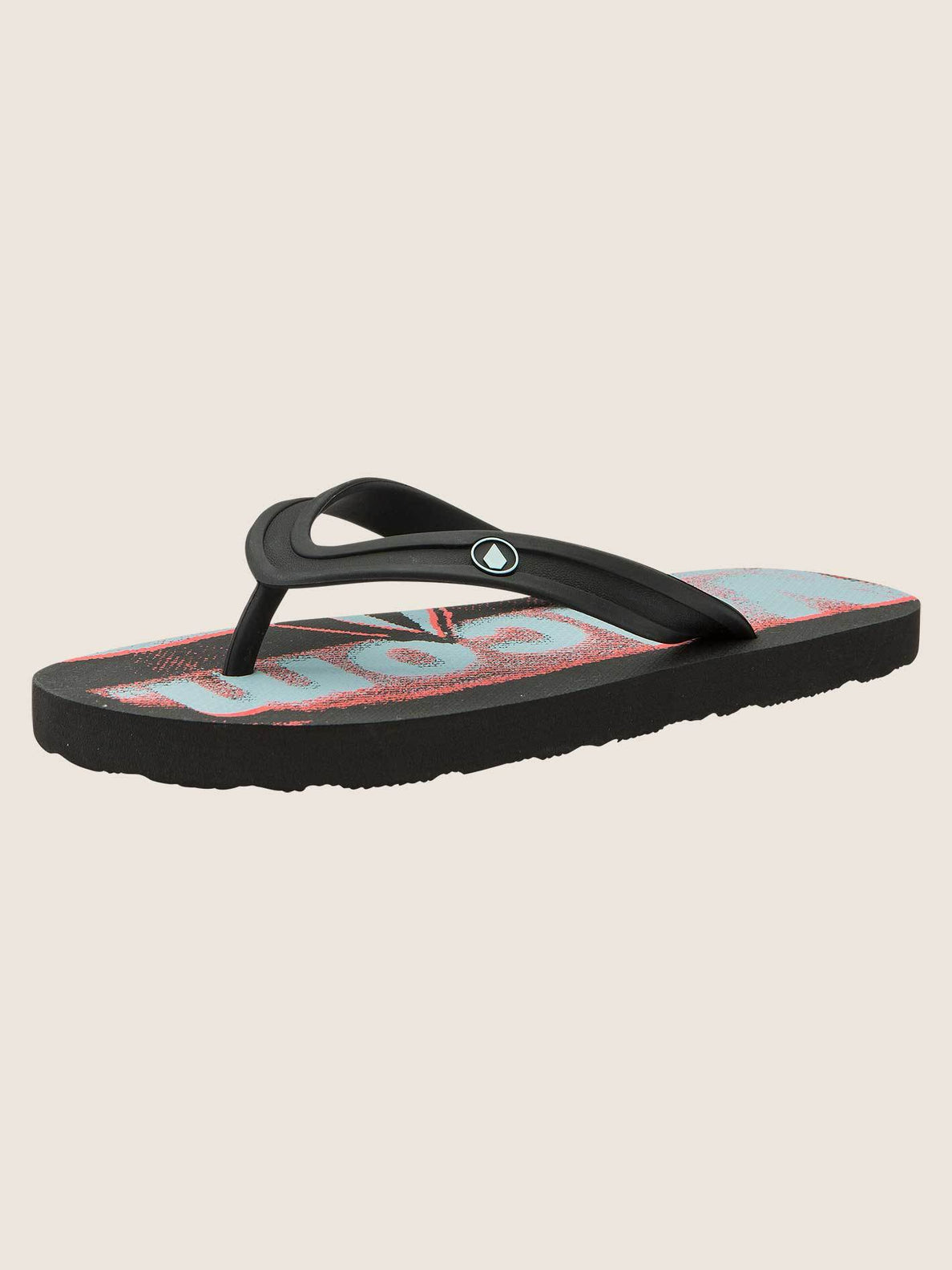 Big Boys Rocker 2 Sandals In Electric Coral, Back View
