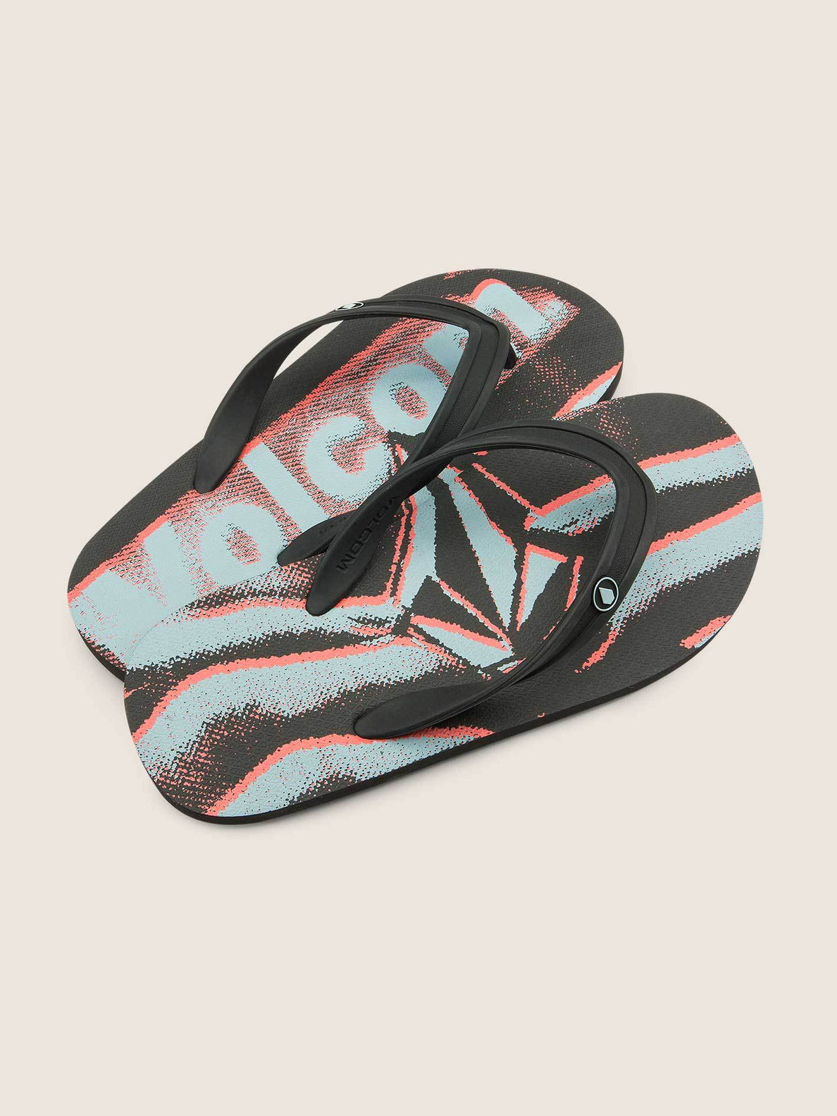 Big Boys Rocker 2 Sandals In Electric Coral, Front View