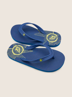 Big Boys Rocker 2 Sandals In Marina Blue, Front View
