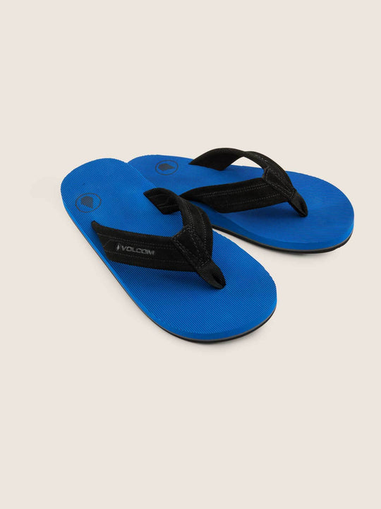 Big Boys Driftin Sandals In True Blue, Front View