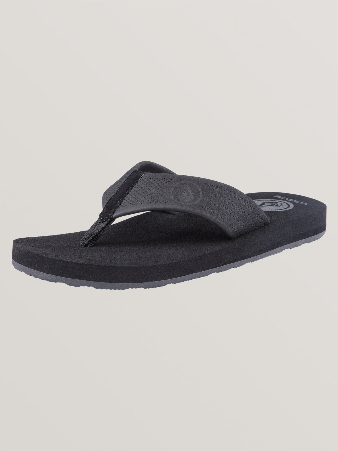 Big Boys Daycation Sandals In Black Destructo, Back View
