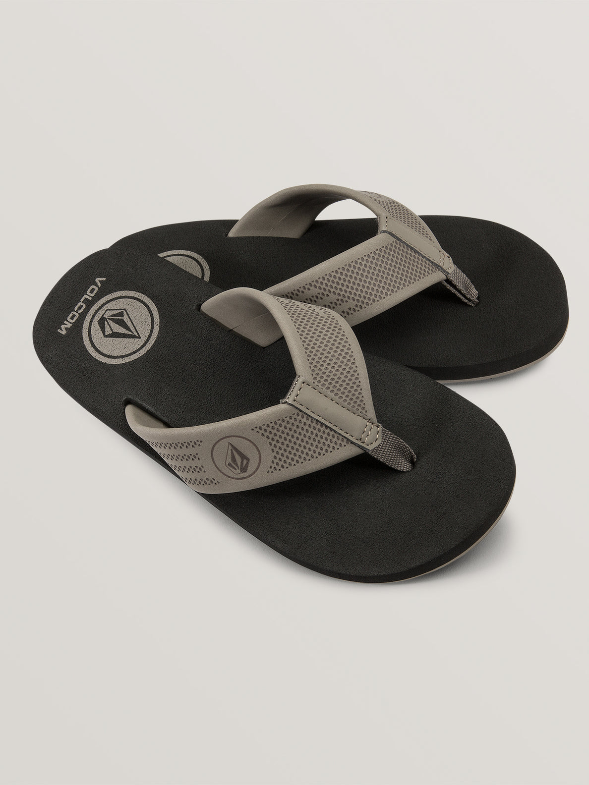 Big Boys Daycation Sandals In Khaki, Front View