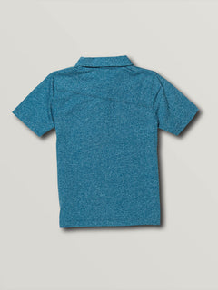 Little Boys Wowzer Polo - Biarritz Blue (Y0111700_BTZ) [B]