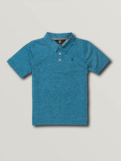 Little Boys Wowzer Polo - Biarritz Blue (Y0111700_BTZ) [F]