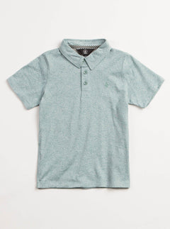 Little Boys Wowzer Polo - Dusty Green