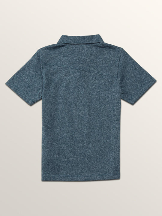 Little Boys Wowzer Polo - Navy Green