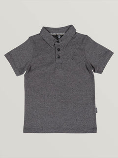 Little Boys Wowzer Polo - Stealth (Y0111700_STH) [F]