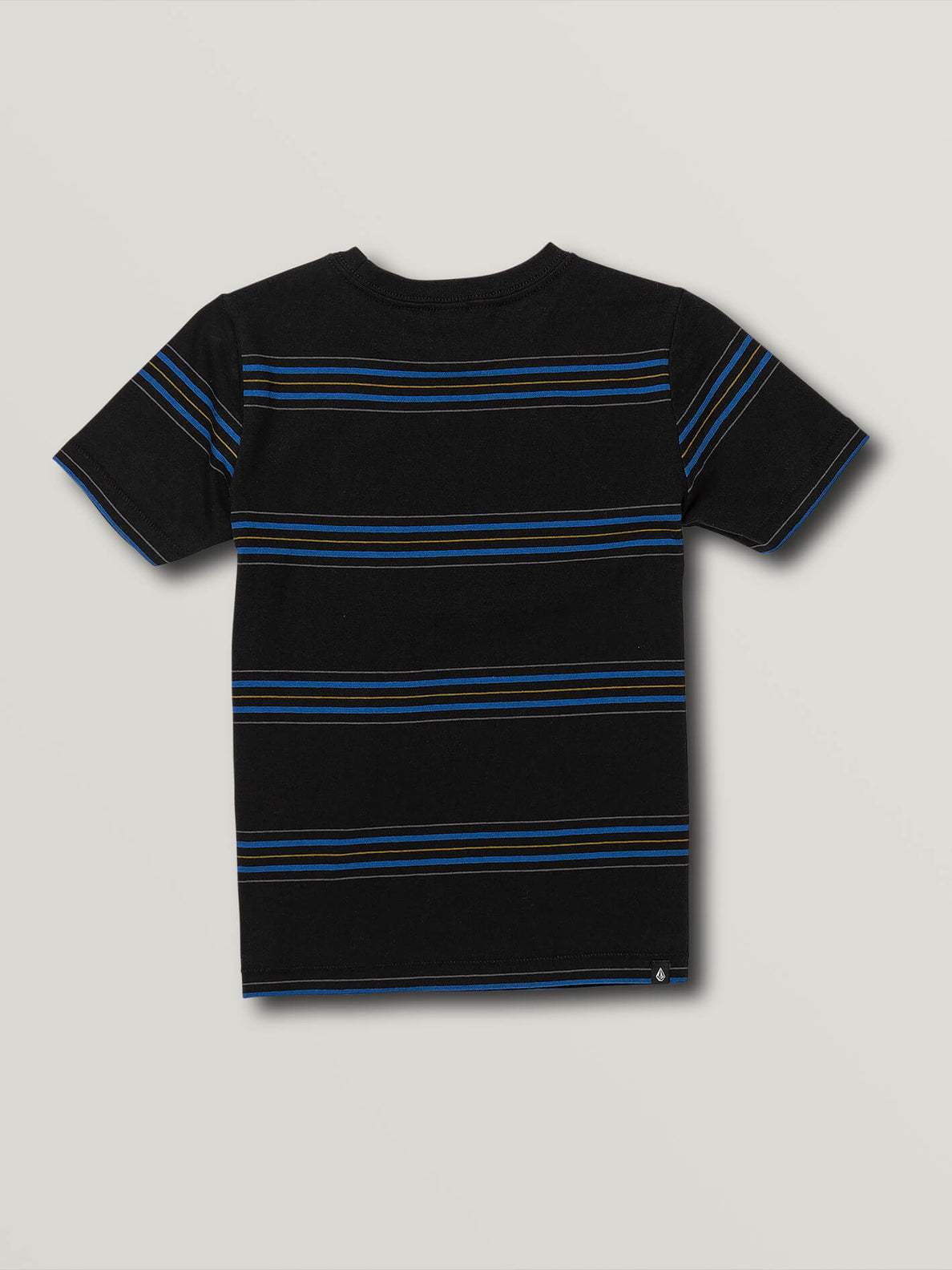 Little Boys Chasen Short Sleeve Crew - Black (Y0141903_BLK) [B]