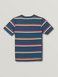 Little Boys Chasen Short Sleeve Crew - Smokey Blue (Y0141903_SMB) [B]